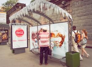 """Coca luôn biết cách """"đóng băng"""" mọi thứ !"""