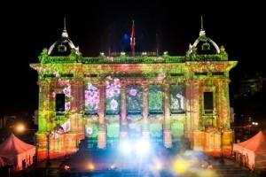Màn chiếu trong Gauze cũng đã về Việt Nam và được sử dụng trong các sự kiện có giá trị nghệ thuật cao.