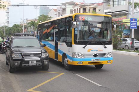 Thời gian bắt đầu điều chỉnh lộ trình xe buýt từ ngày 25-3.