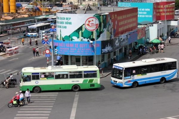 Thời gian tới, trên thân xe buýt tại TPHCM sẽ có nhiều hình ảnh quảng cáo.