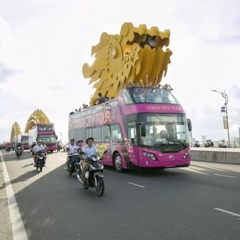 Coco City Tour lăn bánh trên các cung đường tuyệt đẹp của thành phố biển Đà Nẵng
