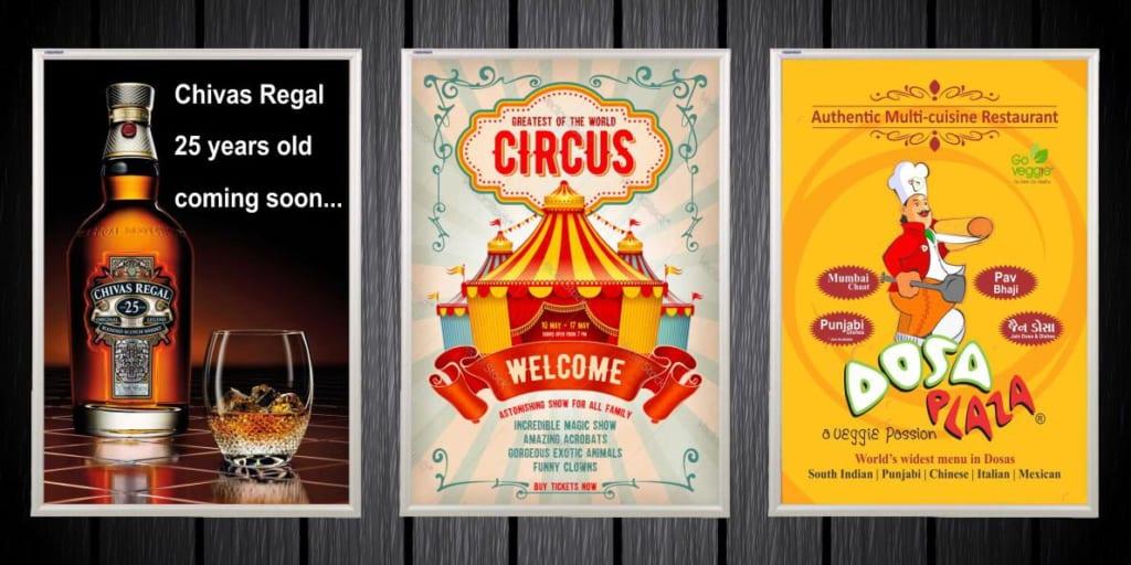 6 cách thức triển khai quảng cáo Poster Frame hiệu quả cho nhà hàng