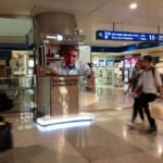quảng cáo lcd tại sân bay