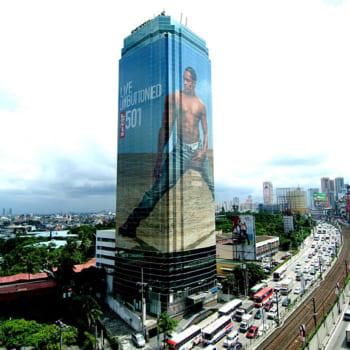 quảng cáo tòa nhà