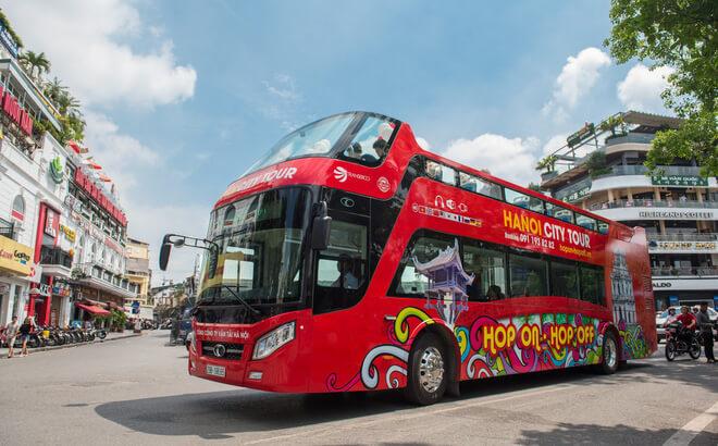 Dịch vụ quảng cáo trên xe bus 2 tầng đẳng cấp và khác biệt
