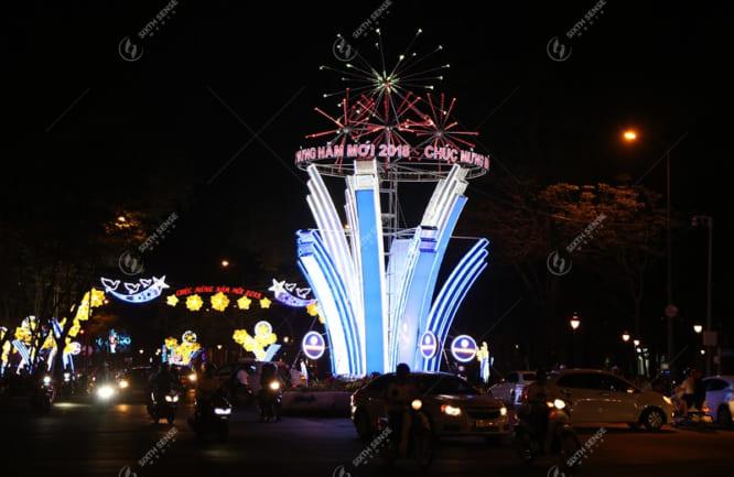 thiết kế chiếu sáng đường phố