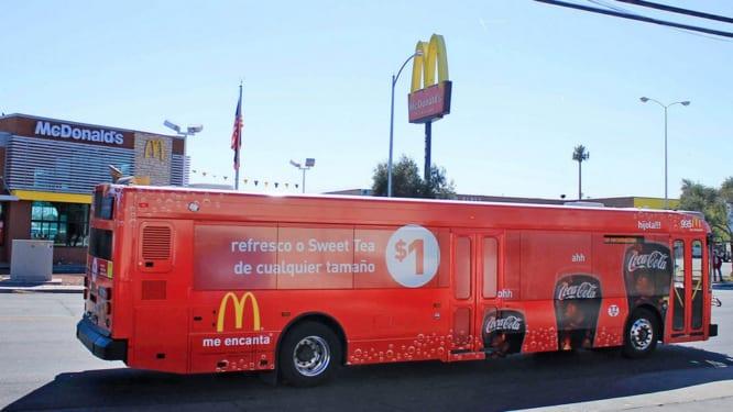 quảng cáo trên phương tiện vận chuyển